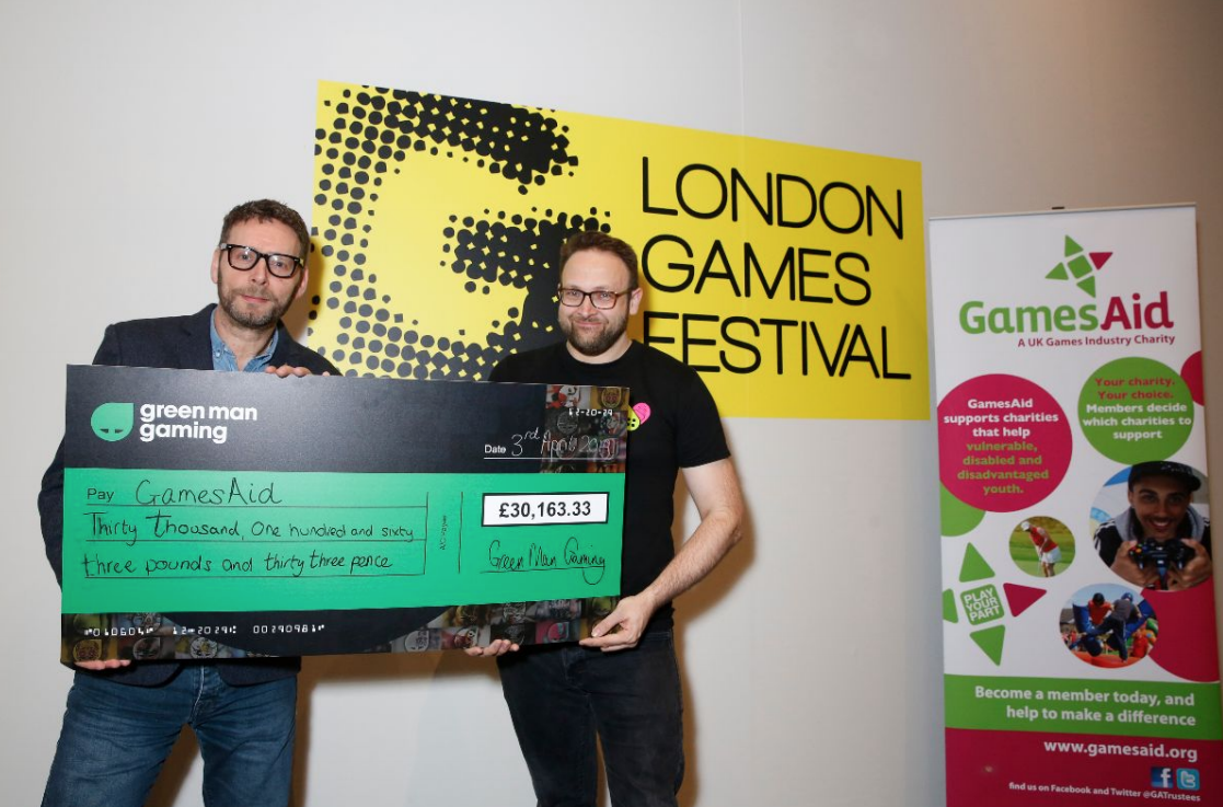 Gaming for Good – Green Man Gaming raises over £30,000 for GamesAid